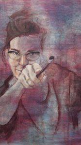 Atelier Rohde zelfportret